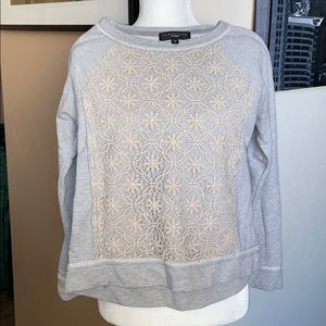 Sanctuary Top with Lacy Detailing